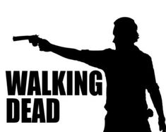 The Walking Dead Rick Grimes Silhouette T-Shirt by DJsDecals