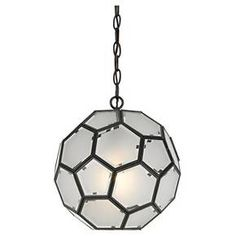 Cal Lighting Pablo Glass Pendant - Glass : Target