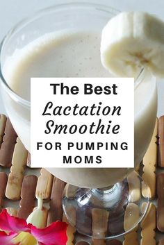 Need a milk-supply boost? Look no further than this hearty recipe for the best lactation smoothie. Easy to make and packed with galactagogues.