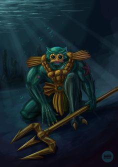 Mer-Man - Masters Of The Universe (MOTU, He-Man, Merman)
