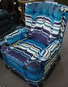 funky psychadelic chair