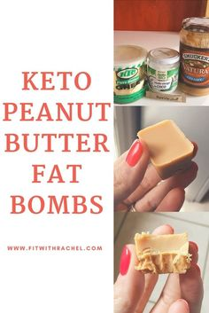 OMG calling all PEANUT BUTTER lovers!!!! These are KETO Peanut Butter Fat Bombs These keto peanut butter fat bombs were so good!! Have you ever tried fat bombs? This was my first shot–and I know that I'll be making more keto fat bombs in the future! Fat bombs are a super easy way to get your healthy fats in…and they are delicious!! Pin now, try later! Paleo Snack, Keto Snacks, Keto Desserts, Paleo Diet, Low Carb Dessert, Low Carb Sweets, Keto Fat, Low Carb Keto, High Fat Keto Foods