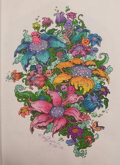Doodle Invasion Flowers