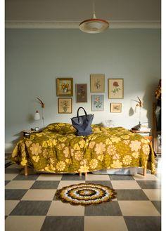 fine little day bedroom Home Bedroom, Bedroom Decor, Bedroom Designs, Retro Bedrooms, Deco Boheme, Bedroom Vintage, Vintage Bathrooms, My New Room, Beautiful Bedrooms