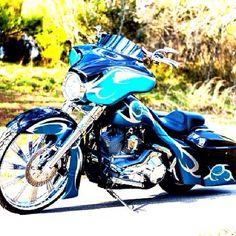 Custom Bagger   Sick Bikez Greensboro, NC