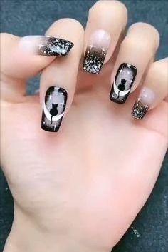 Holloween Nails, Cute Halloween Nails, Halloween Acrylic Nails, Halloween Nail Designs, Cute Acrylic Nails, Halloween Recipe, Trendy Halloween, Halloween Ideas, Scary Halloween