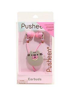 Pusheen Donut Earbuds,