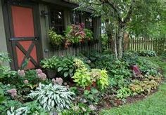 plants for shade gardens - thumbnails have great ideas for under the pines trees.