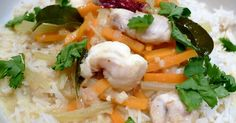 Culinary Adventures in London: Monkfish Cheek Coconut Curry Stew with Carrot and Fennel