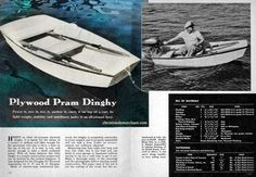Free plans to build an Pram Tender from an old Plywood projects book. Hobbies For Couples, Hobbies For Women, Hobbies That Make Money, Speed Boats, Power Boats, Plywood Projects, Plywood Boat, Whitewater Kayaking, Boat Stuff