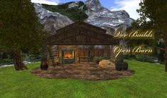 Vov Builds - Open Barn