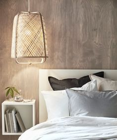 Minimalist luxury in a small and stylish bedroom – IKEA