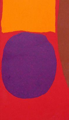 """""""Porthmeor"""", Patrick Heron. Birmingham Museum and Art Gallery."""