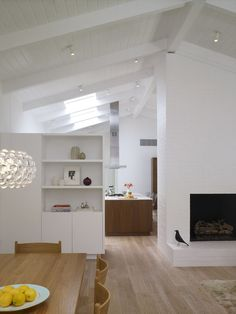 Custom millwork of Los Angeles renovation by Montalba Architects.