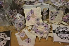 CHA Summer 2012 by Shopping Diva, via Flickr.  Gorgeous Craftwork Cards products...