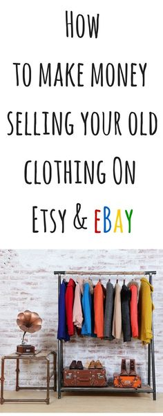 If you are looking for ways to make money online this is a free guide that will show you how to get started selling you old clothing and items around the house to make extra money and its much easier than you think!