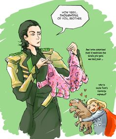 Always repin Sleipnir<<you KNOW he would be that one uncle...