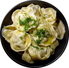 """Russian meat dumplings We Russians are a simple people, food needs longevity as well as a dollop of sour cream. Here's a recipe I found that is pretty damn close to that of my mother for """"pelmeni"""" - I'm fairly sure that it. Eastern European Recipes, European Cuisine, Ukrainian Recipes, Russian Recipes, Canadian Recipes, English Recipes, French Recipes, Japanese Recipes, Vietnamese Recipes"""