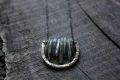 boho necklace long bohemian necklacebohemian by xuanqirabbit