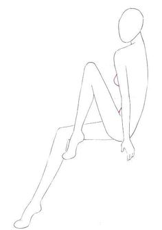 Drawing People How to draw sitting people for fashion illustrations and fashion sketches. Step by step guide on drawing a sitting figure.