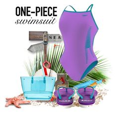 """swimsuit"" by crisvalx-cv ❤ liked on Polyvore featuring Speedo, Beach Athletics and onepieceswimsuit"