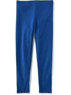 blue leggings for girls