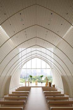 Palace Hotel Tokyo Chapel. Designer: Hirata Yuji Yuji Hirata. Photo: Nacasa & Partners Kono