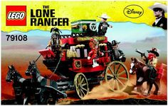 The Lone Ranger - Stagecoach Escape [Lego 79108]