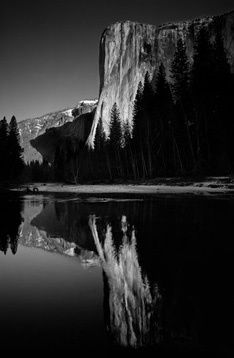 Black and White Landscape. Photograph by: Clyde Butcher