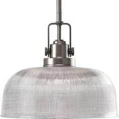 Progress Lighting Archie Collection Antique Nickel 1-light Pendant-P5026-81 at The Home Depot