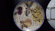Eden Collection Decorative Fruit Plate with hanger