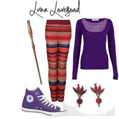 Luna Lovegood-inspired