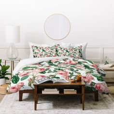 Shop for Marta Barragan Camarasa Floral Vintage Blooms Duvet Cover Set. Get free delivery On EVERYTHING* Overstock - Your Online Fashion Bedding Store! Get in rewards with Club O! King Duvet Set, Queen Duvet, Duvet Sets, Duvet Cover Sets, Bed Bath & Beyond, Terrazzo, Down Comforter, King Comforter, Bed Duvet Covers
