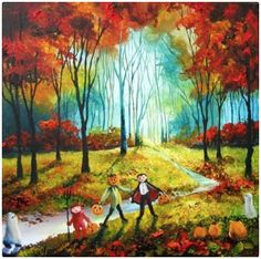 Red Forest Trick or Treat
