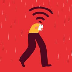 Magoz Illustration - How technology improves our day-to-day. Useful technology.