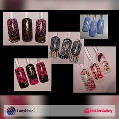 Come See Brand New Moyra Image Plates! by LadyNailz via Nail Art Gallery #nailartgallery #nailart #nails #glitter #polish #flowers #wildsidenailz #stamping #imageplates #moyra