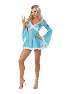 Ladies Sassy Flower Power Costume