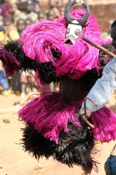 Africa | Bwa ceremonial dance in Burkina Faso near Ouagadougou. | ©Dietmar Temps