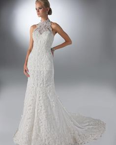 Seal the deal in DaVinci Bridal Style #50085
