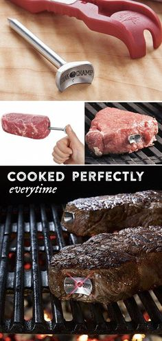 Meat Thermometer by SteakChamp d'autres gadgets ici : http://amzn.to/2kWxdPn