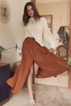 Mode Outfits, Chic Outfits, Pretty Outfits, Fashion Outfits, Fashion Styles, Fashion Boots, Style Fashion, Earthy Outfits, Looks Hippie