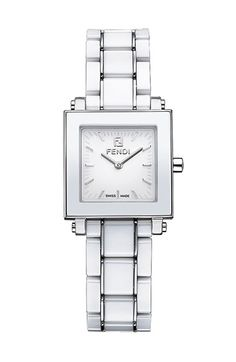 Fendi Ceramic Square Case Watch, 25mm available at #Nordstrom $1095.00
