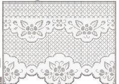 Crochet Curtains, Lace Curtains, Crochet Tablecloth, Crochet Doily Patterns, Crochet Doilies, Filet Crochet, Projects To Try, Weaving, Quilts
