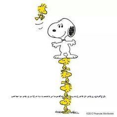 Life's a balancing act! Peanuts Cartoon, Peanuts Snoopy, Peanuts Comics, Snoopy Love, Snoopy And Woodstock, Peanuts Characters, Cartoon Characters, Minions, Snoopy Comics