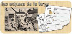 DDM le vivant -cycle 1 : les animaux de la ferme | Classeur d'école