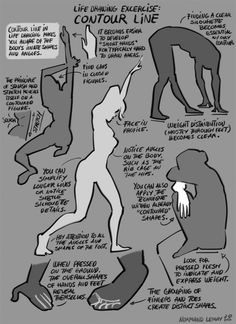 Tuesday Tips - Life Drawing Exercise: CONTOUR LINE One of the most straight forward tip I have about Life Drawing. It kind of goes against what most life drawing instructors will tell you. The first...