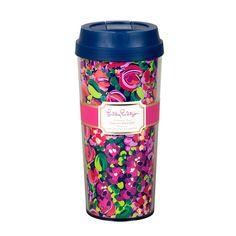 Lilly Pulitzer Thermal Travel Mug - Wild Confetti