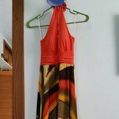Beautiful Dress Never worn, beautiful halter top dress.   • Bundle! Check out my closet! • • Make me an offer! • Dresses