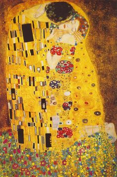 New art nouveau modern illustration gustav klimt Ideas Stretched Canvas Prints, Canvas Art Prints, Art Klimt, Art Nouveau, Medieval Paintings, Greek Art, Art Mural, Funny Art, Art History