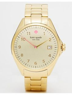 Kate Spade Gold Seaport Watch - Gold